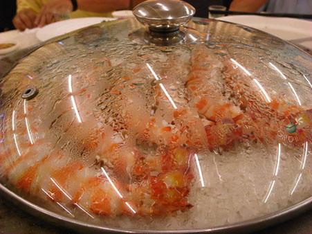 鹽烤大車蝦