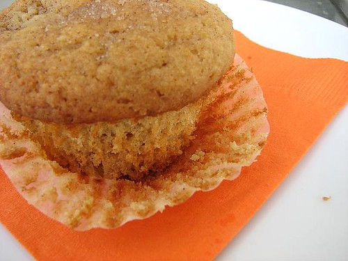 sms} whole-wheat triple ginger fresh peach muffins | Pink Stripes
