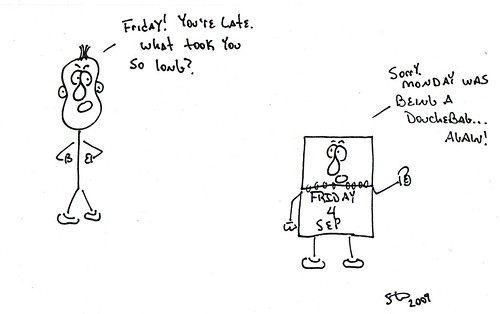 Friday is Late