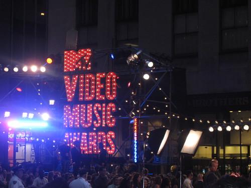 MTV Video Music Awards sign