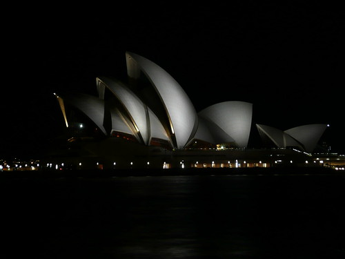 Sydneys Opera House at Night