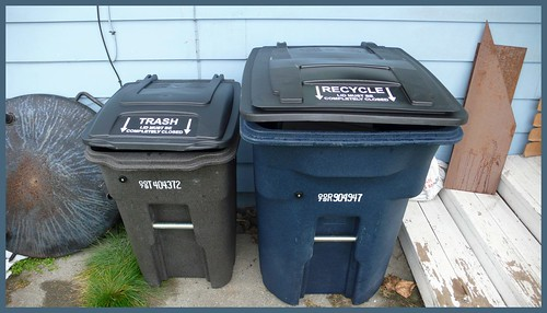 Anchorage gets with the program -- curbside recycling comes to my house!