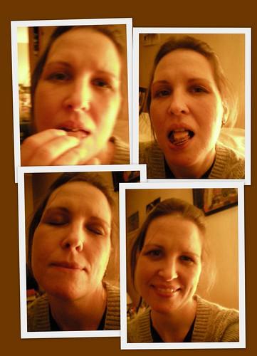 2009 17-18 October Ladurée macaron chocolat