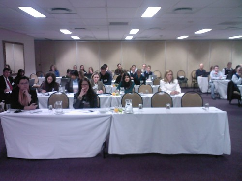Speaking at the presso