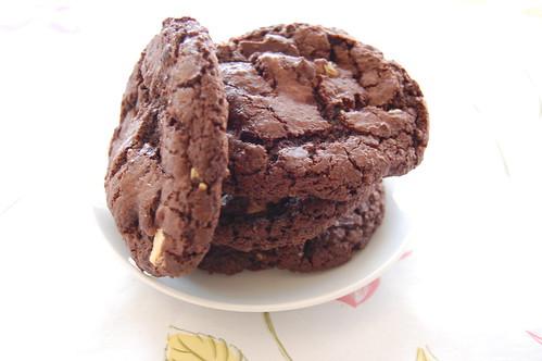 1 עוגיות שוקולד כפולות