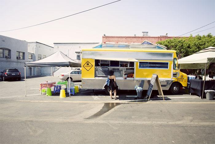 The Gastrobus @ Los Feliz Farmers Mkt