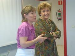 Carmen Caffarel, una directiva en las aulas.