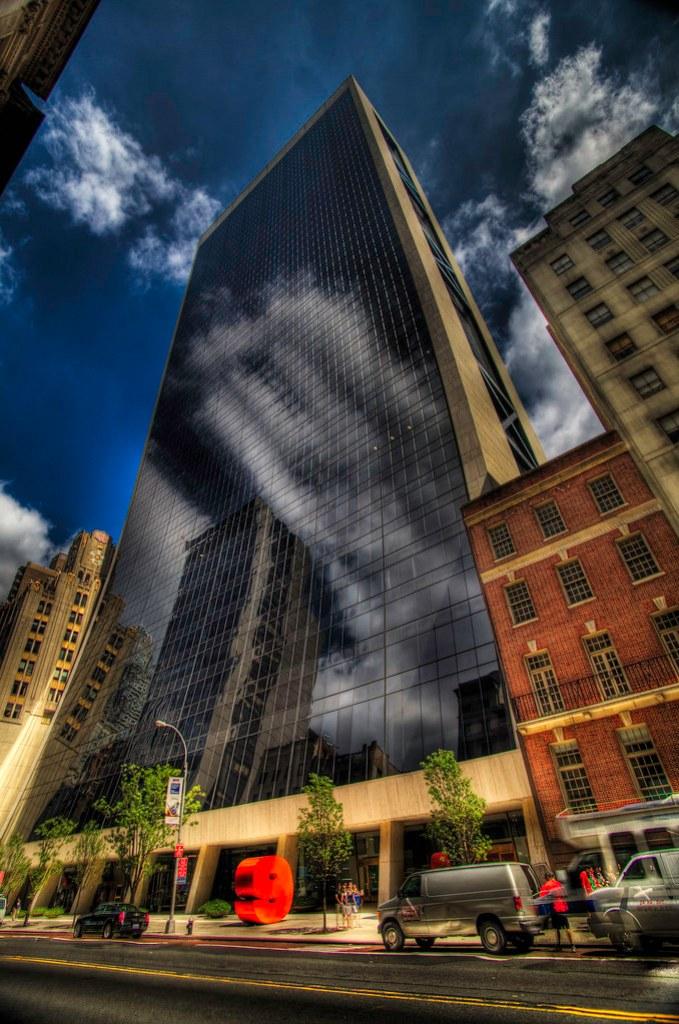 The Bending Building.