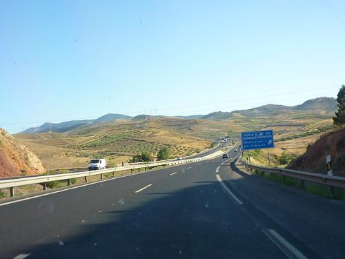 Motorway between Zaragoza and Calatayud