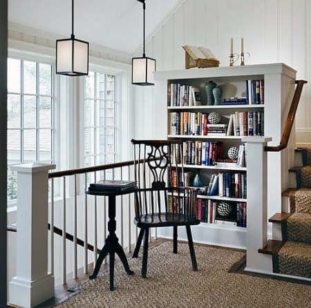 Cullman and Kravis stair bookcase