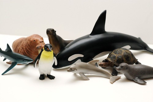Sea Creature Toys : Rajen review schleich toys rajencreation
