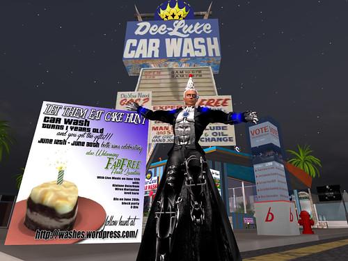 Happy Birthday, Car Wash!