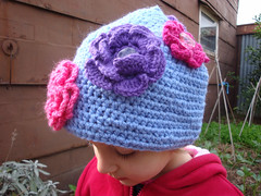 Tash flower hat 3