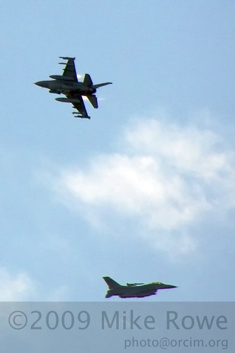 Airforce over Taebaek