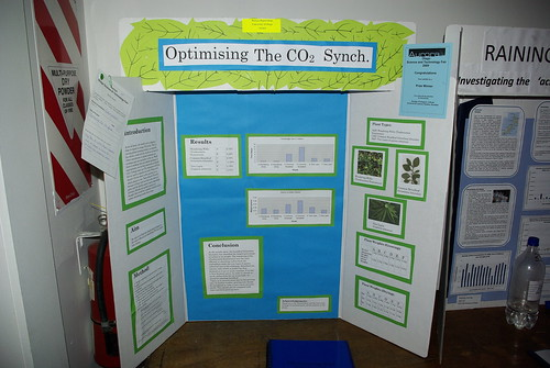 Sustainabilty entry Otago Science Fair