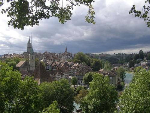 Berna desde arriba