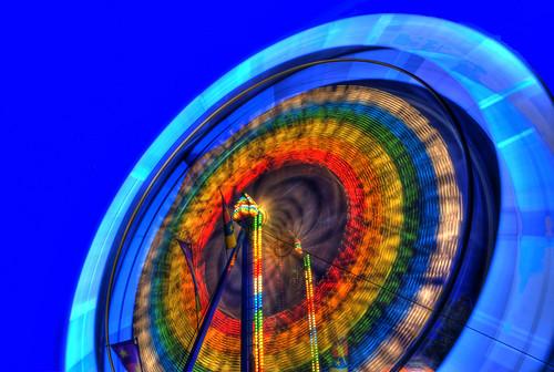 world pictures longexposure blue light red orange white... (Photo: Brandon Godfrey on Flickr)