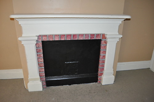 Fireplace, 3rd floor, back room