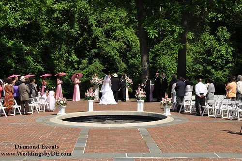 Ceremony at Newtown White Mansion
