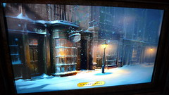 Christmas Carol Concept Art of Scrooge's Office