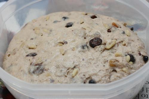 Risen Pannetone Dough