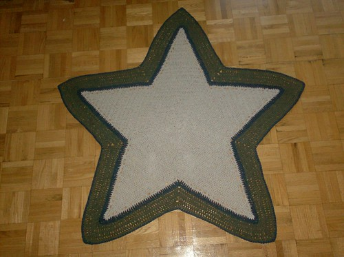 Radiant Star Baby Blanket