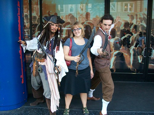 Pirates of the Caribbean impersonators