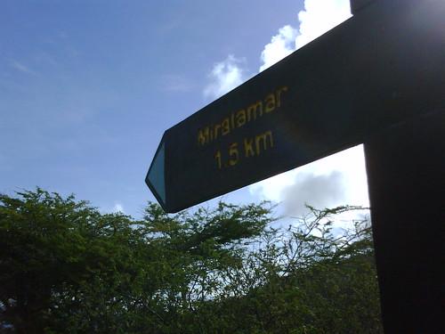 Sign atop Jamanota