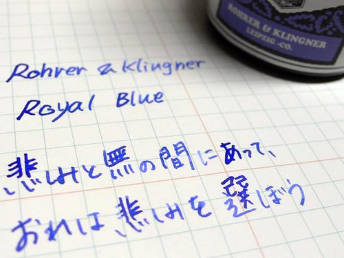 Rohrer & Klingner : Royal Blue
