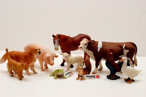 Schleich - Farm Animals