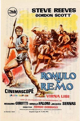 Romulo y Remo por ti.