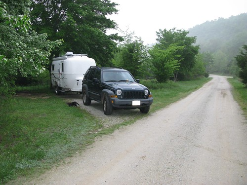Erbie Campground on the Buffalo National River