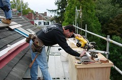A Workshop in the Trees--Carpenters Repair Dor...