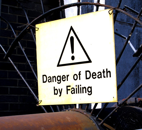 Danger of Death By Failing by AlmazUK, on Flickr