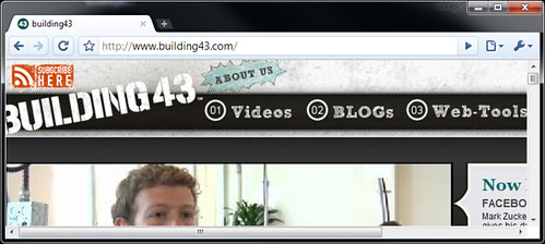 Screen Capture of Building43