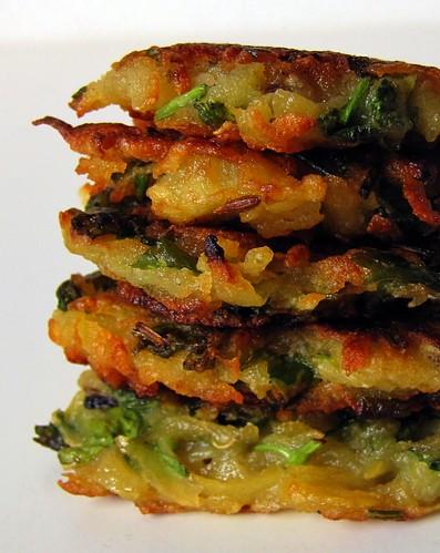 Quick Potato Patties / Aloo Tikki Recipe