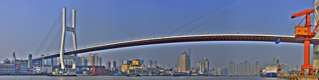 Nanpu Bridge Panorama.