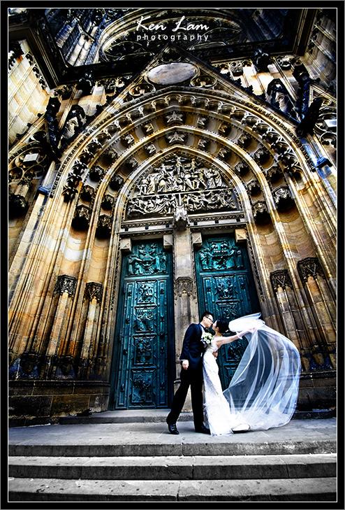 Pre-wedding in Prague