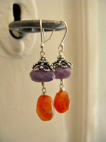 Bohemian Royalty earrings