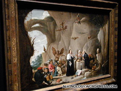 David Teniers II (1610-1690): The Temptation of Saint Anthony of Egypt