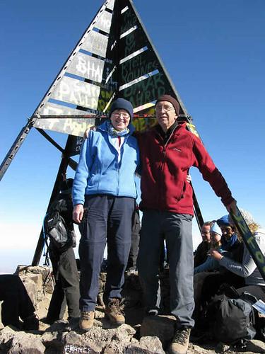 Jebel Toubkal summit