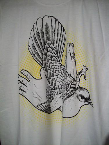 Freebird t-shirt (w) - Jeremy Fish