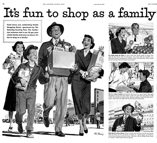 1953--shop as a family--by Bill Fleming