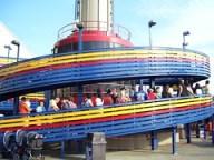 Cedar Point - Space Spiral Line