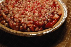 Strawberry Pomegranate Pie