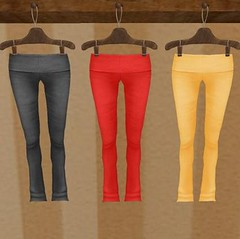 50L Friday 13 - Sand Shack Surf Co. - Yoga Pants In Yellow Slate & Red
