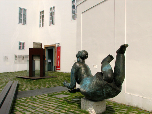 In front of Kampa Museum by you.