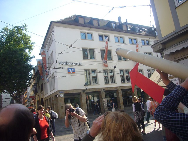 G Kamera in der Freiburger Innenstadt