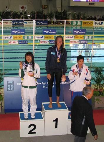 810利安琪在女子A組50米蛙泳獲銀牌並平剛在羅馬世錦賽剛刷新的澳門紀錄