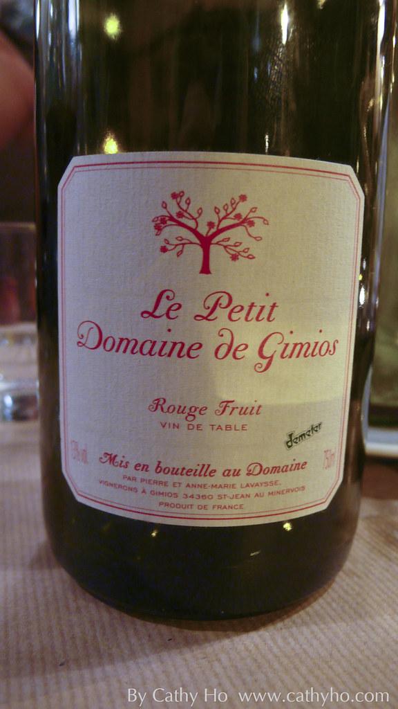 Le Petit Domaine de Gimios Rouge Fruit